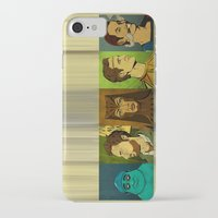 watchmen iPhone & iPod Cases featuring It's Always Sunny in Watchmen - Group by Jessica On Paper