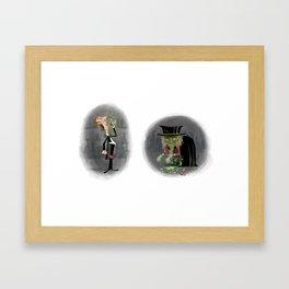Dr Jekyll & Mr Hyde Framed Art Print