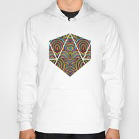 moroccan Hoodies featuring Moroccan Style by Pom Graphic Design