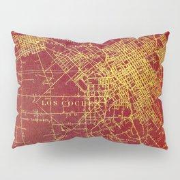 San Jose old map year 1899, united states vintage maps Pillow Sham