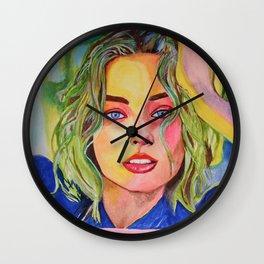 Margot Robbie Wall Clock