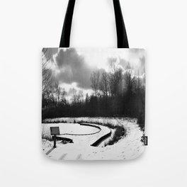 Dark Skies Pond Tote Bag
