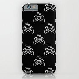 Video Game Gamepad Pattern iPhone Case