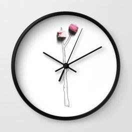 Camp Marshmellow Wall Clock