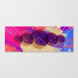 Big Purple Planet Eater Canvas Print