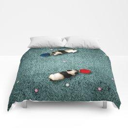 Ping Pong Pandas Comforters
