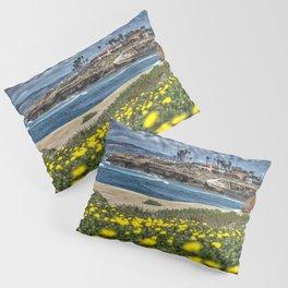 Daisies, Sunset Cliffs, San Diego Pillow Sham