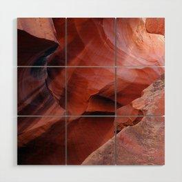 Antelope canyon Wood Wall Art