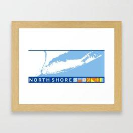 North Shore - Long Island. Framed Art Print