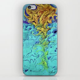 RIDING THE STORM iPhone Skin
