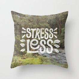 Stress Less Throw Pillow