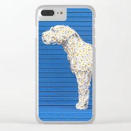 Daisy Dog Clear iPhone Case