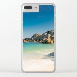 Pontusval Lighthouse Clear iPhone Case