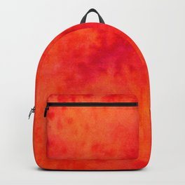 Sunset Blush Red Backpack