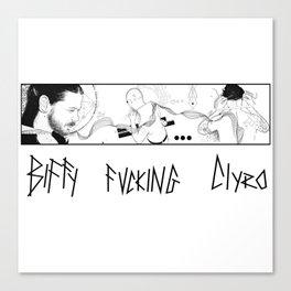 biffy fucking clyro Canvas Print