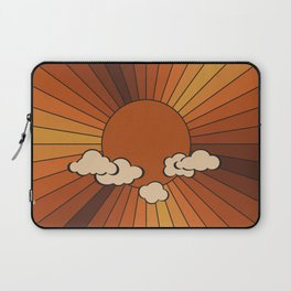 Retro Sunshine Laptop Sleeve