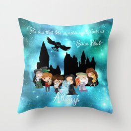 Always HP Snape and Sirius Throw Pillow