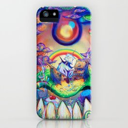 buried treasure iPhone Case