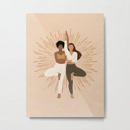 Shine Your Light Metal Print
