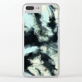 Tethered sky Clear iPhone Case