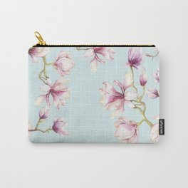 Delicate Magnolia Carry-All Pouch