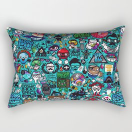 Pop Design Rectangular Pillow