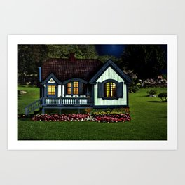 A Lovely Place to Live Art Print