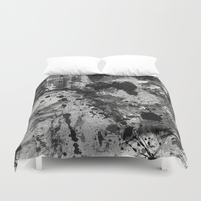 Lost In Contrast Duvet Cover