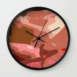 Rose Abstract Wall Clock
