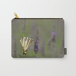 Lavender and a Butterfly-An Essential Friend Carry-All Pouch