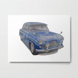 Ford Zodiac Mk1 Metal Print