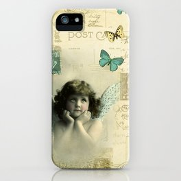 Butterfly Angel iPhone Case