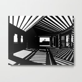 Shadows and Light Metal Print