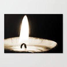 Lucerna ignis Canvas Print