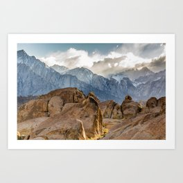 Mount Whitney Sunset Art Print