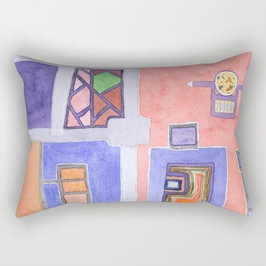 The Golden Plate Rectangular Pillow