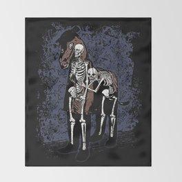 Anatomy of a Fake Horse Throw Blanket