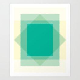 Cacho Shapes LXI Art Print