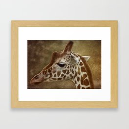 Its all in a Glance Framed Art Print