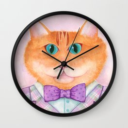 Clifford Sir Cat Wall Clock