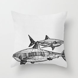 Great Friends Throw Pillow