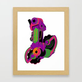 The World's Most Famous 70's Derailleur, One Cool Cat Framed Art Print