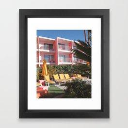 Retro Holiday Framed Art Print