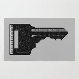 Piano Key. Rug