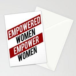 EMPOWERED WOMEN EMPOWER WOMEN Stationery Cards