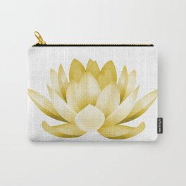 Mustard lotus flower Carry-All Pouch