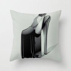 SLAVE to FASHION Throw Pillow