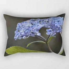 Hydrangea in Blue Rectangular Pillow