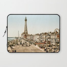 The Promenade at Blackpool, Lancashire, England 1898 Laptop Sleeve
