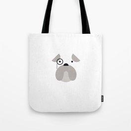 Pedigree: Bulldog Tote Bag